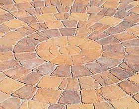 Circular Pattern Paving