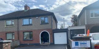 SMA Tarmac Driveway with Granite Cobbles in Glasnevin, Dublin