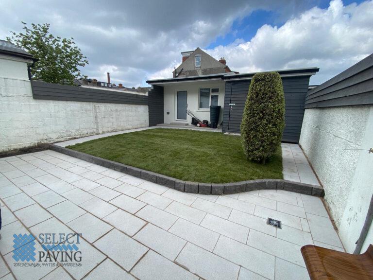 Silver Granite Patio in Glasnevin, Dublin