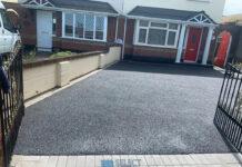 Tarmac Driveway and Silver Granite Patio in Clarehall, Dublin