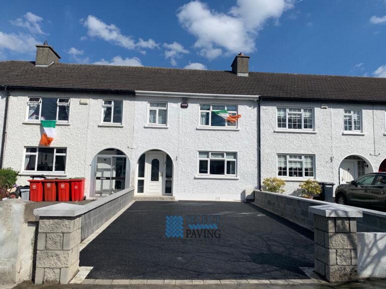 Tarmac Driveway with Granite Border and Doorstep in Swords, Dublin