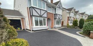 Tarmac Driveway with Granite Pathway in Castleknock, Dublin