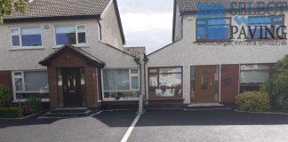 Double Shared Asphalt Driveway in Swords, Dublin