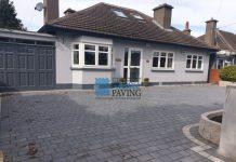 Tegula Paving Driveway in Baldoyle, Dublin